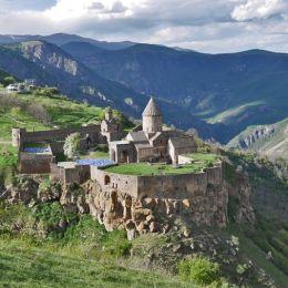 Кухня народов Армении в ресторации «Жигулевская долина»