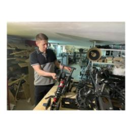Резидент технопарка запустил мелкосерийное производство гусеничных комплектов для мотоциклов