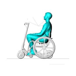 Резидент технопарка «Жигулевская долина» создал приставку для механических инвалидных колясок