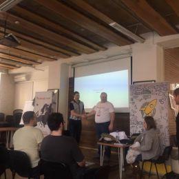 Пригласили на крупнейшую стартап-конференцию Европы