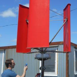 Самарское ООО НПО «Шторм»  разработало и изготовило опытную партию  ветроэнергетических установок