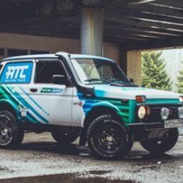 Первый автомобиль на природном газе в российском автоспорте
