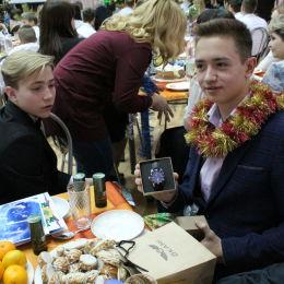 Технопарк «Жигулёвская Долина» поздравил воспитанников детского центра «Единство» с Новым годом
