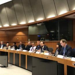 Руководитель компании-резидента технопарка выступил в Европарламенте