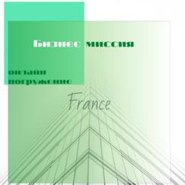 Бизнес-миссия во Францию. Онлайн-погружение