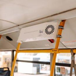 Резидент «Жигулевской долины» оснащает автобусы Тольятти транспортными рециркуляторами