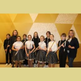 «Культурная среда» наполнила технопарк звуками флейты