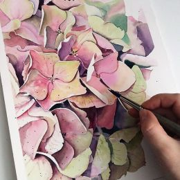 Акварельный курс «Цветочное настроение»