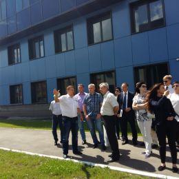 Технопарк посетила делегация из Свердловской области