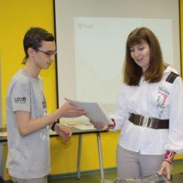 Кванторианцы получили сертификаты Яндекс.Лицея