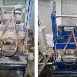 Очистка сухим льдом: до и после